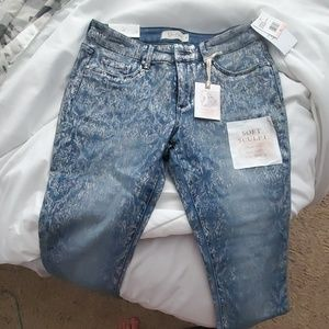 Jessica Simpson kiss me super skinny jeans Sz 28